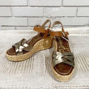 Sam Edelman Women's Darlene Braided Wedge Sandals